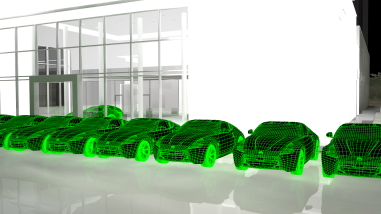 cars wireframe sample